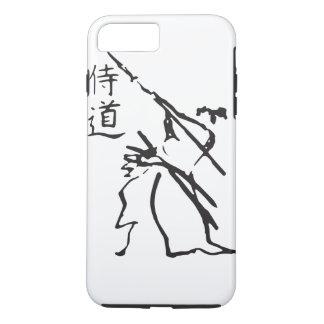 Funda Para iPhone 8 Plus/7 Plus Caso del iPhone del karate y del carácter