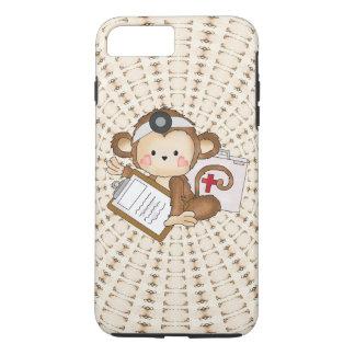 Funda Para iPhone 8 Plus/7 Plus Caso duro más del iPhone 7 del doctor Monkey
