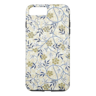 Funda Para iPhone 8 Plus/7 Plus Caso duro más del iPhone 7 del jazmín azul