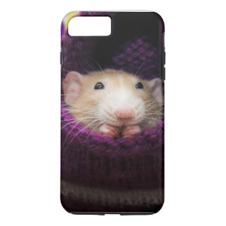 Funda Para iPhone 8 Plus/7 Plus Caso duro más del iPhone 7 del ratón de Marty