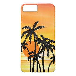 Funda Para iPhone 8 Plus/7 Plus Caso escénico de Smartphone de la playa de la