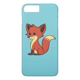 Funda Para iPhone 8 Plus/7 Plus Caso más del iPhone 7 azules claros lindos del Fox