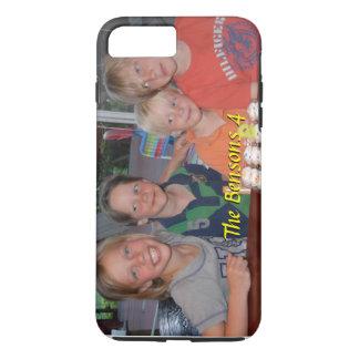 Funda Para iPhone 8 Plus/7 Plus Caso más del iPhone 7 de la foto con nombre