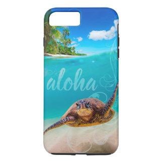 Funda Para iPhone 8 Plus/7 Plus Caso más del iPhone 7 de la tortuga de mar de la