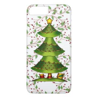 Funda Para iPhone 8 Plus/7 Plus Caso más del iPhone 7 del árbol de navidad apenas