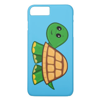 Funda Para iPhone 8 Plus/7 Plus Caso más del iPhone 7 lindos de la tortuga del