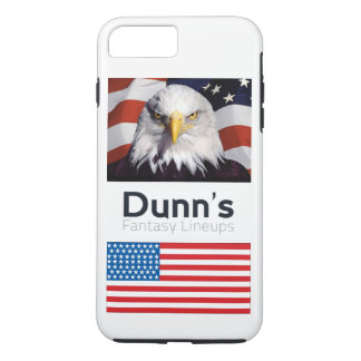 Funda Para iPhone 8 Plus/7 Plus caso más del iPhone 7 patriótico (blanco)