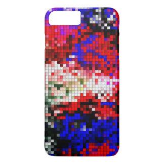Funda Para iPhone 8 Plus/7 Plus caso multicolor del bloque para el iPhone 7 más
