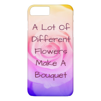 Funda Para iPhone 8 Plus/7 Plus Caso subió arco iris de Iphone 7