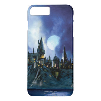 Funda Para iPhone 8 Plus/7 Plus Castillo el | Hogwarts de Harry Potter en la noche