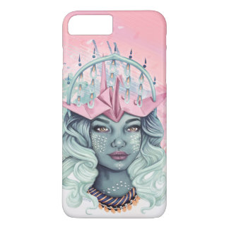 Funda Para iPhone 8 Plus/7 Plus Chica de Origami Tsuru