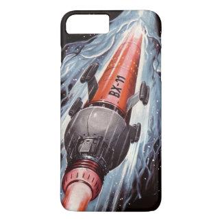 Funda Para iPhone 8 Plus/7 Plus Ciencia ficción Rocket a Marte