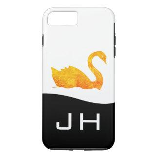 Funda Para iPhone 8 Plus/7 Plus Cisne de oro