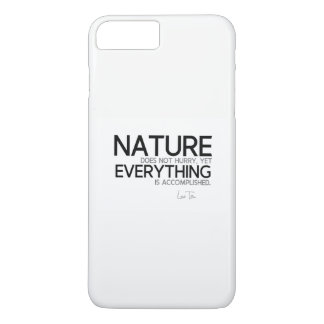 Funda Para iPhone 8 Plus/7 Plus CITAS: Lao Tzu: Naturaleza, lograda