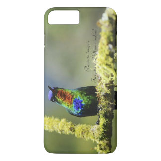 Funda Para iPhone 8 Plus/7 Plus colibrí Ardiente-throated