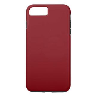 Funda Para iPhone 8 Plus/7 Plus ¡Coloración ROJO OSCURO, tipos y dudettes del