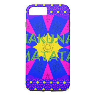 Funda Para iPhone 8 Plus/7 Plus Colores asombrosos hermosos del diseño de Hakuna