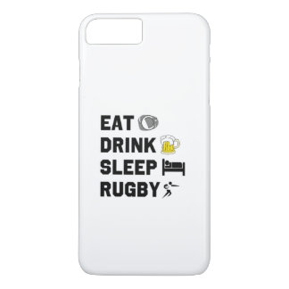 Funda Para iPhone 8 Plus/7 Plus Coma. Bebida. Sueño. Rubgy. caso del iPhone