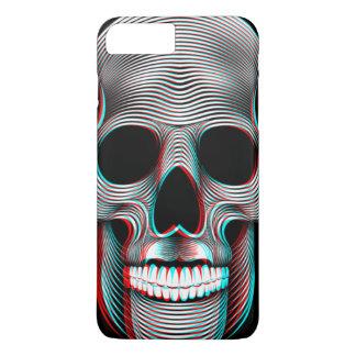 Funda Para iPhone 8 Plus/7 Plus cráneo retro adaptable 3D