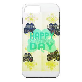 Funda Para iPhone 8 Plus/7 Plus Cree el su propio día feliz simple de San Patricio