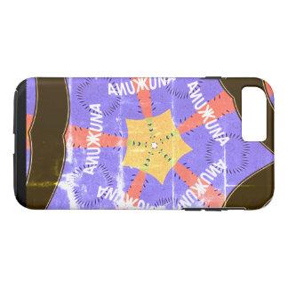 Funda Para iPhone 8 Plus/7 Plus Cree su propio azul de Hakuna Matata del vintage
