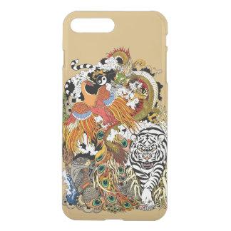 Funda Para iPhone 8 Plus/7 Plus cuatro animales celestiales