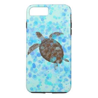 Funda Para iPhone 8 Plus/7 Plus Cubierta del teléfono de la tortuga de mar