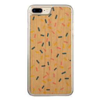 Funda Para iPhone 8 Plus/7 Plus De Carved Asperja en el caso más del iPhone 7 de madera