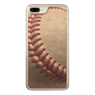Funda Para iPhone 8 Plus/7 Plus De Carved Béisbol en la madera