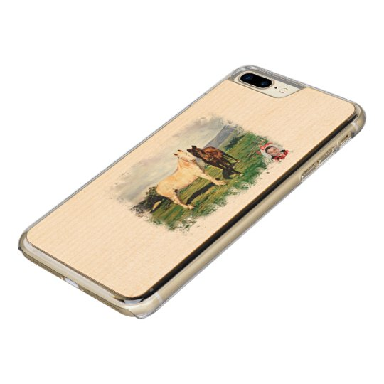Funda Para iPhone 8 Plus/7 Plus De Carved Caballos/Cabalos/Horses