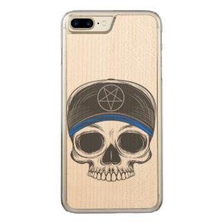 Funda Para iPhone 8 Plus/7 Plus De Carved Cráneo de la roca del patín