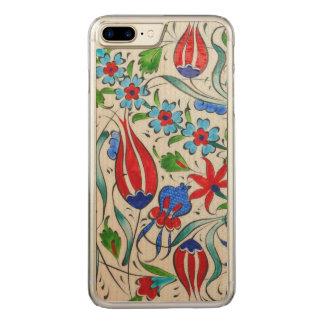Funda Para iPhone 8 Plus/7 Plus De Carved Diseño floral turco