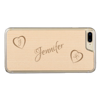 Funda Para iPhone 8 Plus/7 Plus De Carved Dos corazones en amor