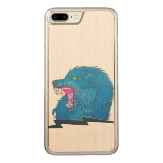 Funda Para iPhone 8 Plus/7 Plus De Carved Ejemplo del lobo