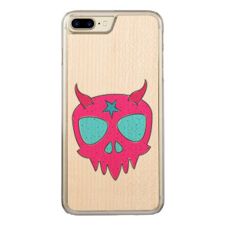 Funda Para iPhone 8 Plus/7 Plus De Carved Ejemplo diabólico del cráneo