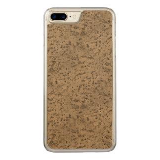 Funda Para iPhone 8 Plus/7 Plus De Carved Grano de madera de la mirada de la corteza del