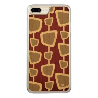 Funda Para iPhone 8 Plus/7 Plus De Carved iPhone moderno retro 8 del monograma más el caso