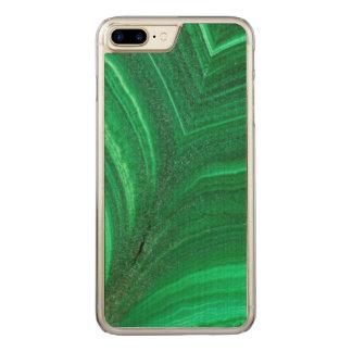 Funda Para iPhone 8 Plus/7 Plus De Carved Mineral verde claro de la malaquita