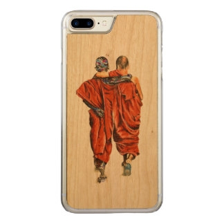 Funda Para iPhone 8 Plus/7 Plus De Carved Monjes budistas