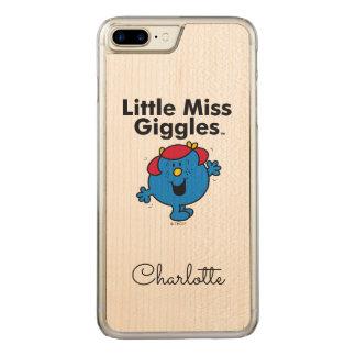 Funda Para iPhone 8 Plus/7 Plus De Carved Pequeña pequeña Srta. Giggles Likes To Laugh de la