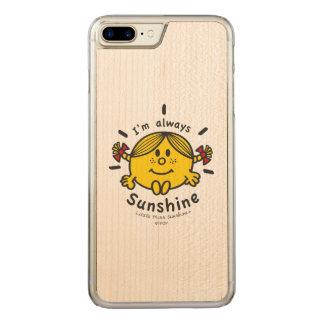 Funda Para iPhone 8 Plus/7 Plus De Carved Pequeña Srta. Sunshine el   soy siempre sol