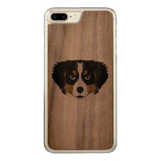 Funda Para iPhone 8 Plus/7 Plus De Carved Perro de montaña de Bernese del ilustracion