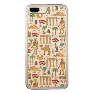 Funda Para iPhone 8 Plus/7 Plus De Carved Símbolos del color del modelo de Egipto