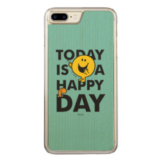 Funda Para iPhone 8 Plus/7 Plus De Carved Sr. Happy el   es hoy un día feliz