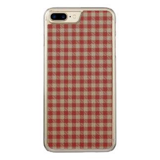 Funda Para iPhone 8 Plus/7 Plus De Carved Tela escocesa de Achall del lago