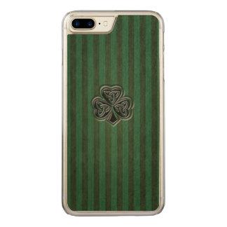 Funda Para iPhone 8 Plus/7 Plus De Carved Trébol afortunado irlandés de moda del grundge