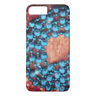 Funda Para iPhone 8 Plus/7 Plus Decoración retra del navidad, textura goteada, de