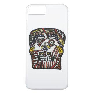 Funda Para iPhone 8 Plus/7 Plus día del iPhone 7 6s Barely There del cráneo muerto