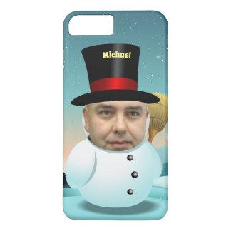 Funda Para iPhone 8 Plus/7 Plus Dibujo animado del muñeco de nieve con su propia
