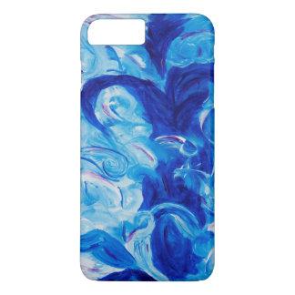 Funda Para iPhone 8 Plus/7 Plus Diosa azul